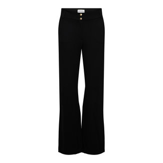 &Co woman dove wilde leg pants zwart