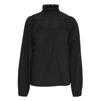 Ichi yula ss blouse zwart