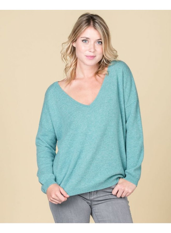 Absolut Cashmere oversized v-neck sweater