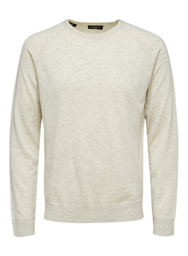 Selected pullover light grey