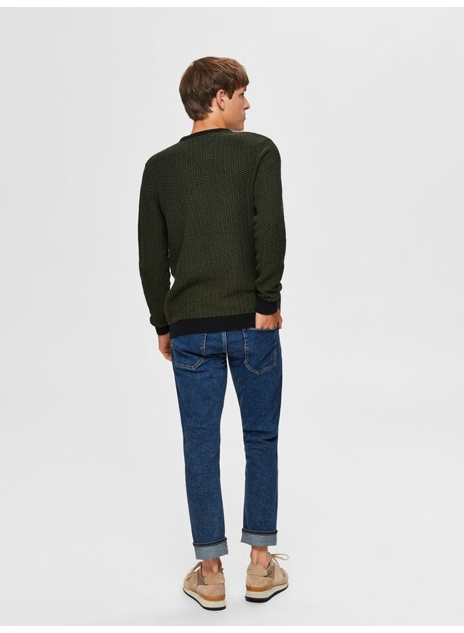 Selected pullover rifle green/black