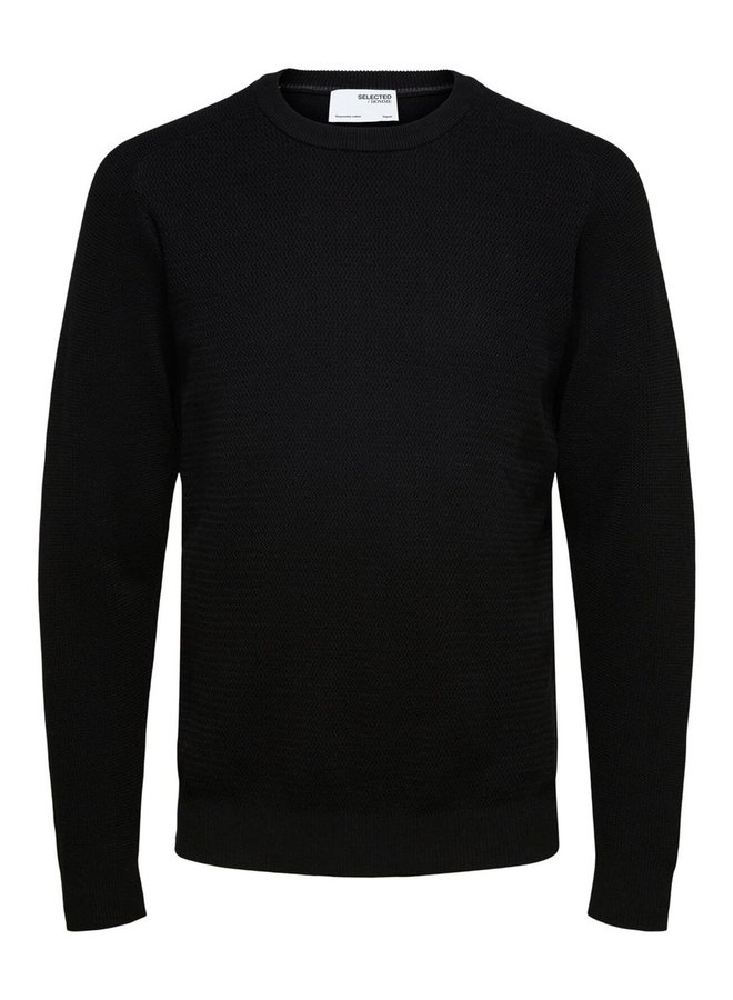 Selected pullover black