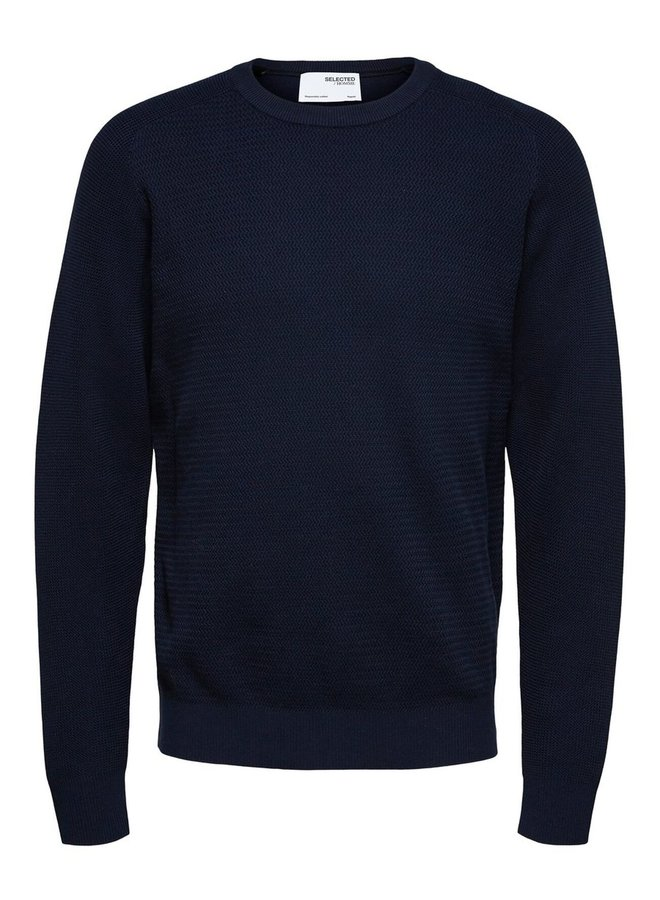 Selected pullover navy