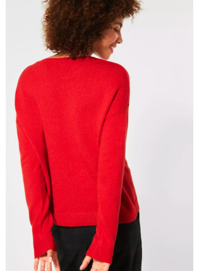 StreetOne pullover red
