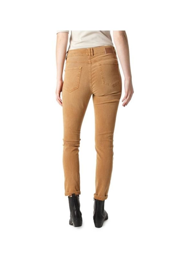 Angels skinny button camel L32