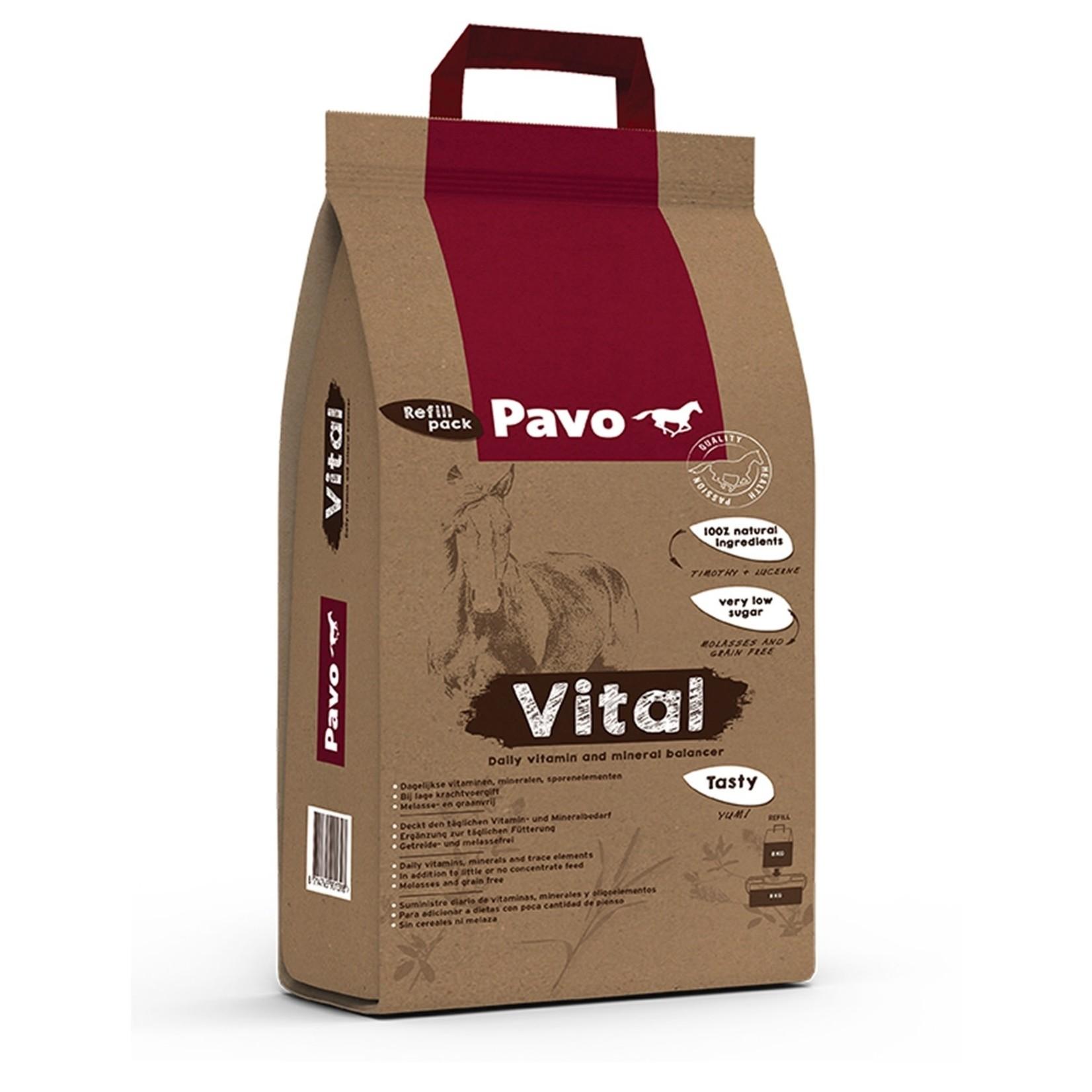 Pavo Pavo Vital 8 KG (navulling 8 KG)