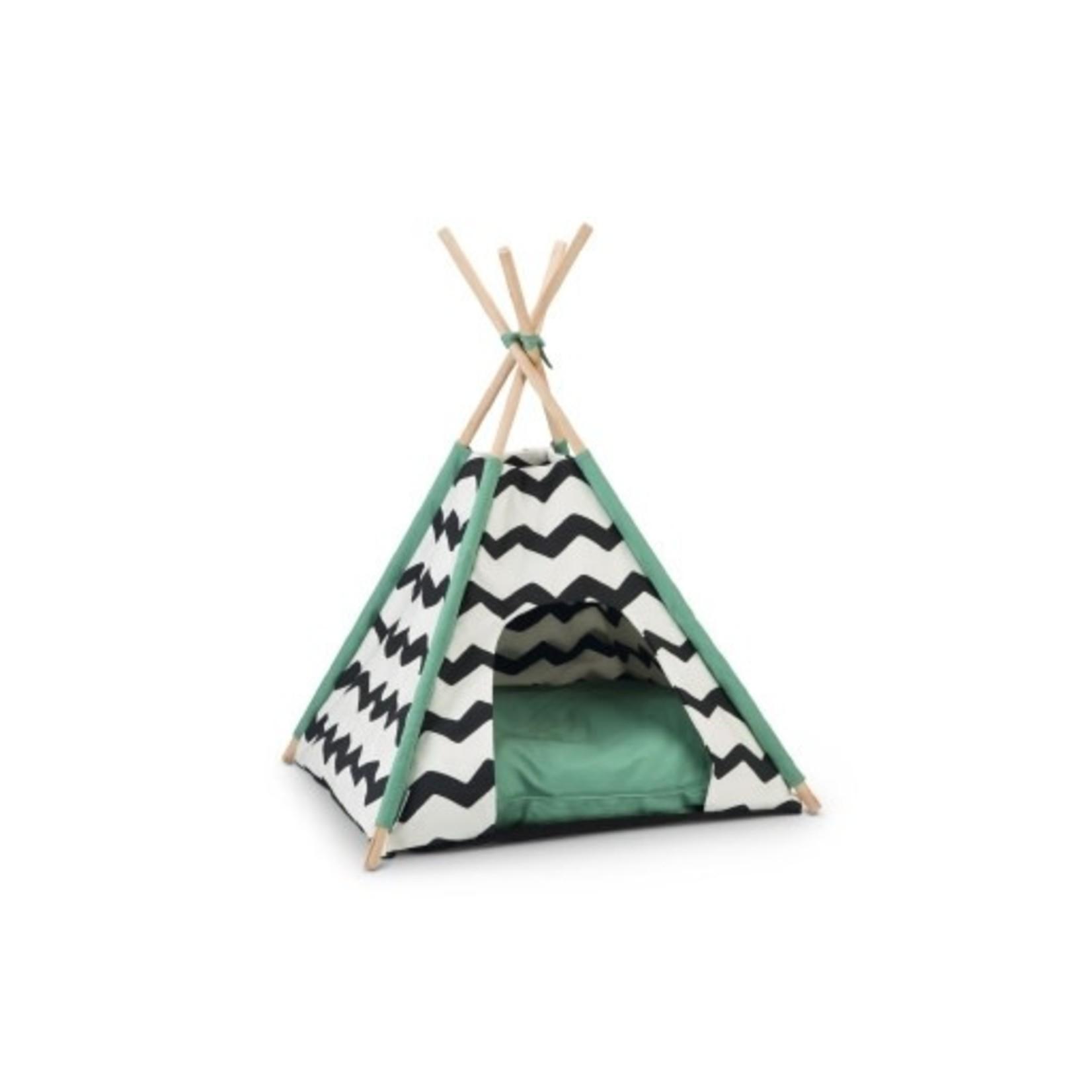 Beeztees BZ Tipi Tent Kiono zwt/wit 50X50X80