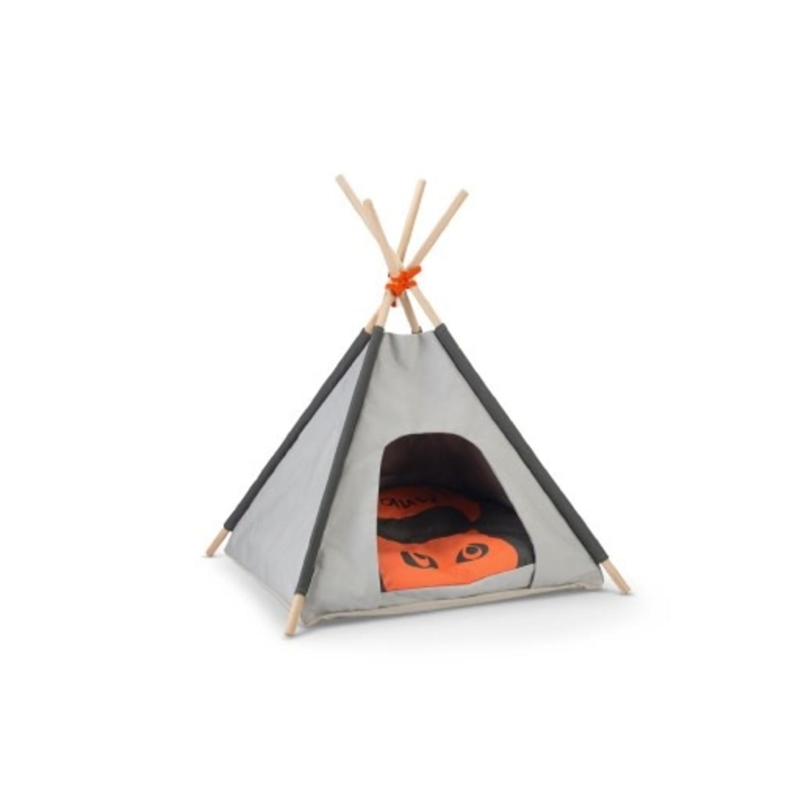 Beeztees BZ Tipi Tent Mohaki Grijs 50X50X80