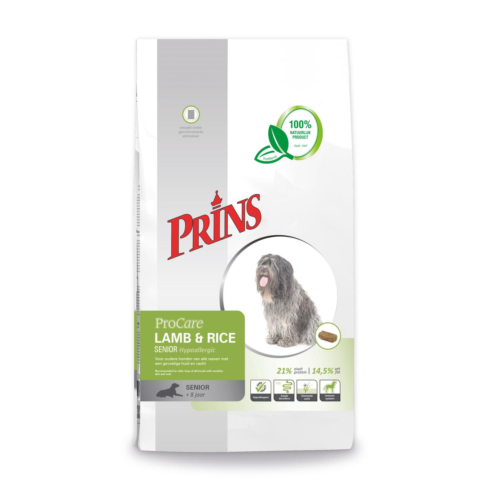 Prins Petfoods Prins Procare Lam-Rijst Senior