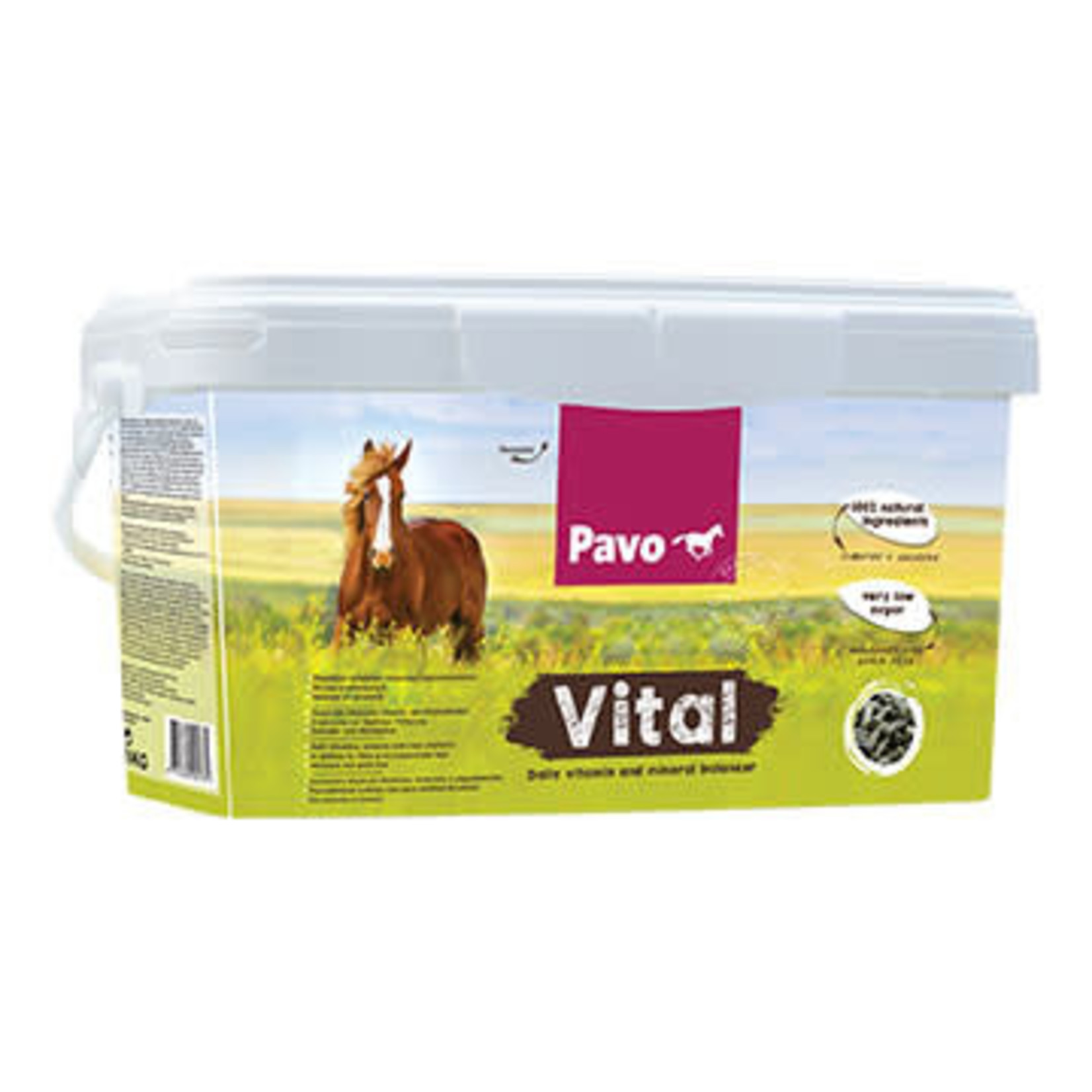 Pavo Pavo Vital 8 KG (emmer 8 KG)
