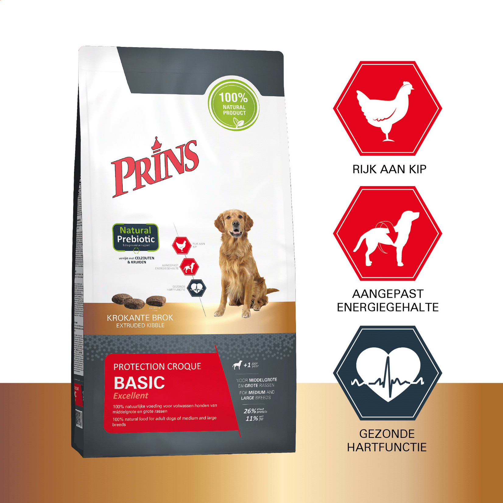 Prins Petfoods Prins Protection Basic Croque