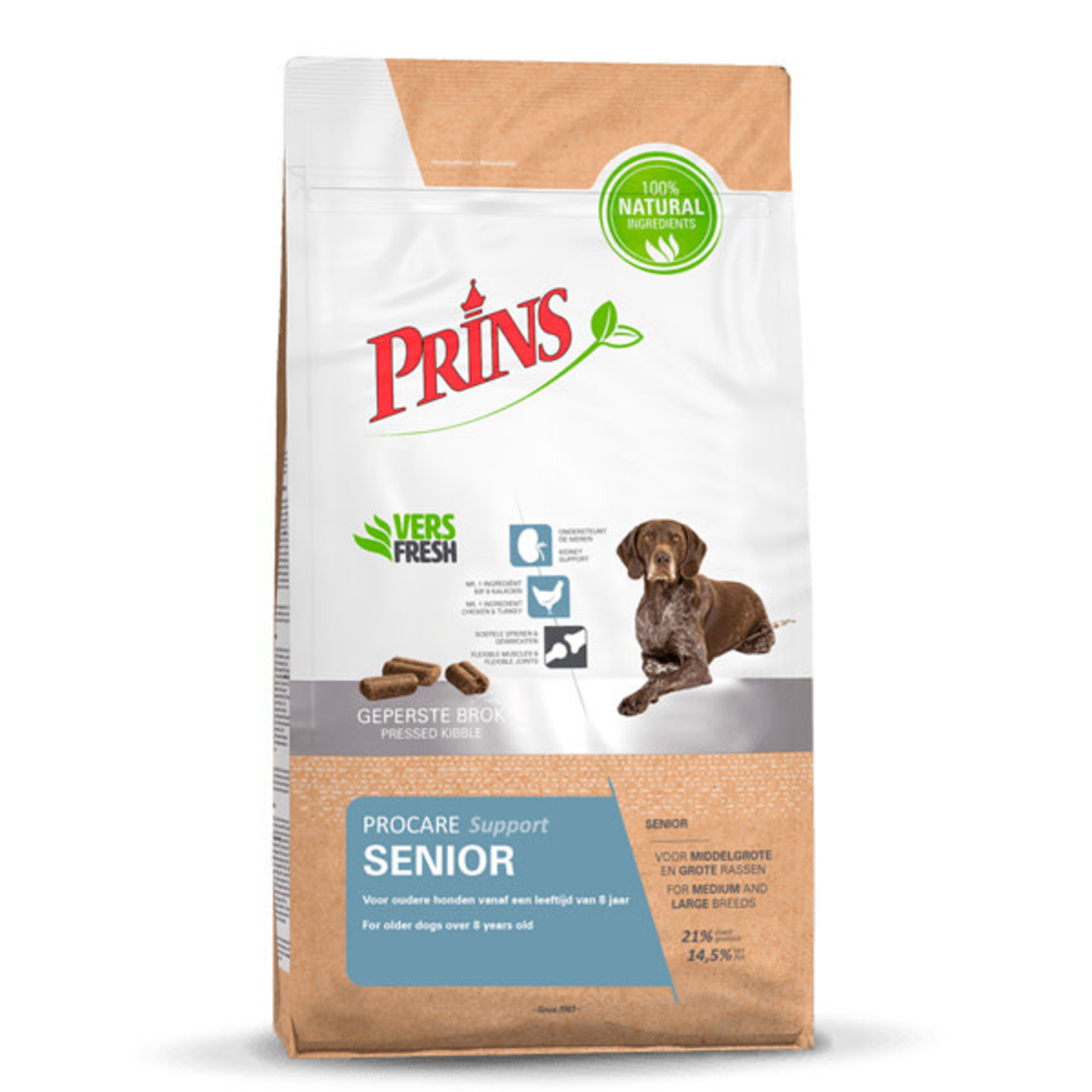 Prins Petfoods Prins Procare Senior Support