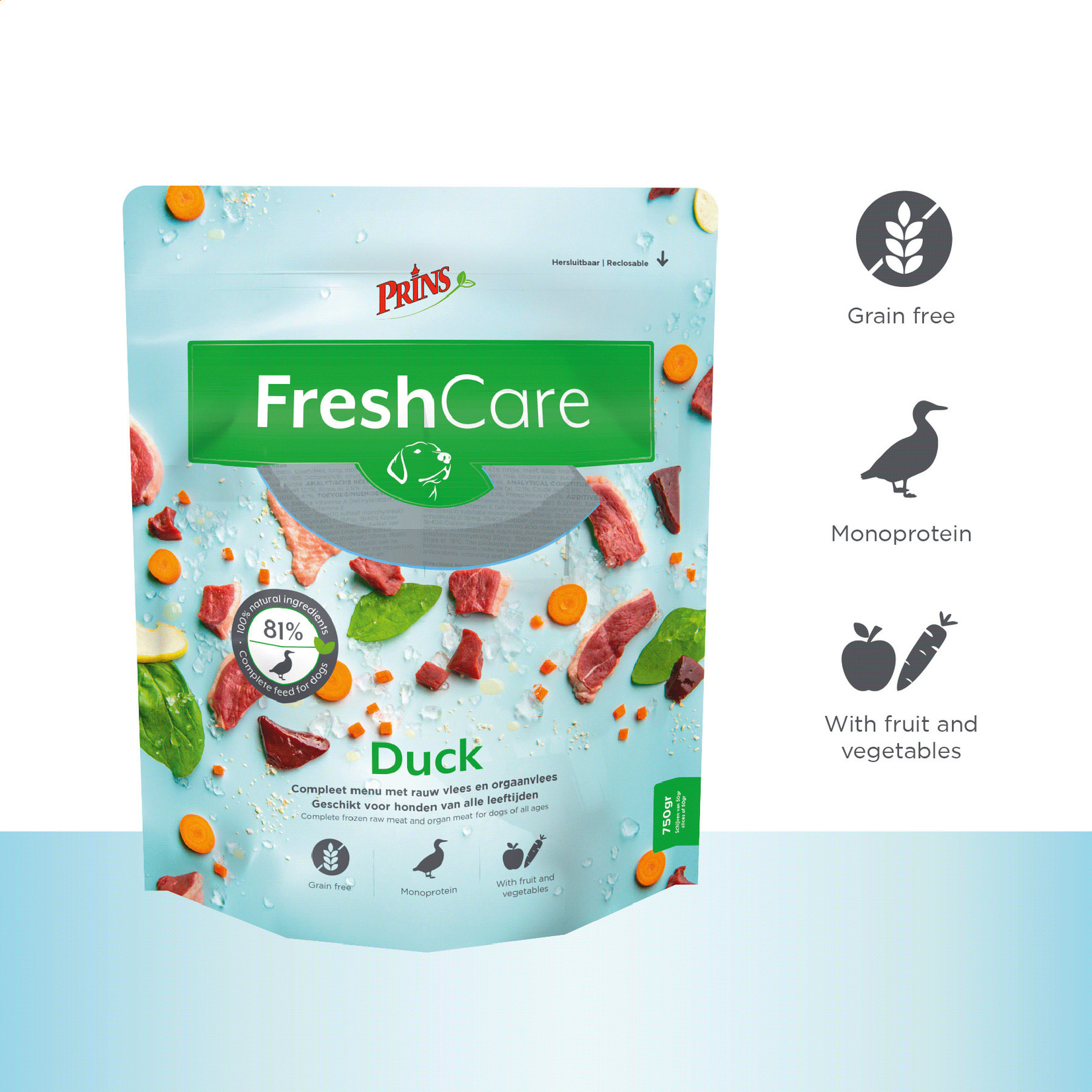 Prins Petfoods Prins Fresh Care Duck