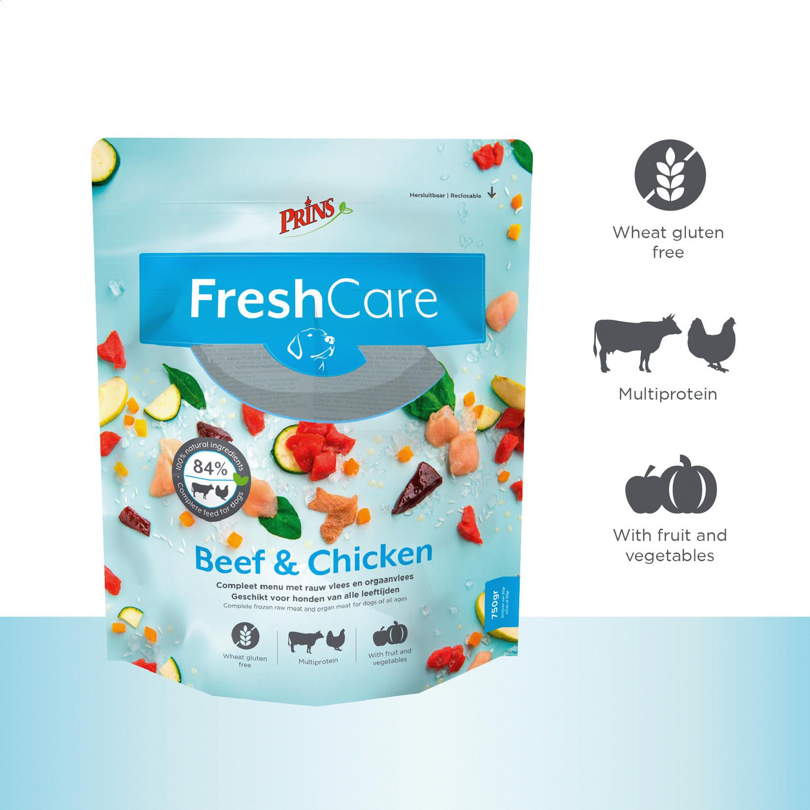 Prins Petfoods Prins Fresh Care Beef&Chicken