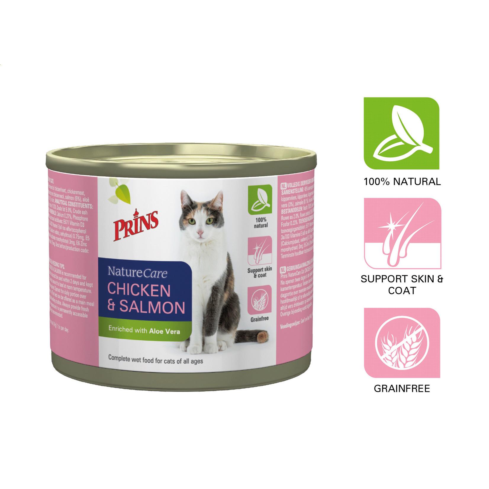 Prins Petfoods Prins Nature Care Kat Chicken & Salmon