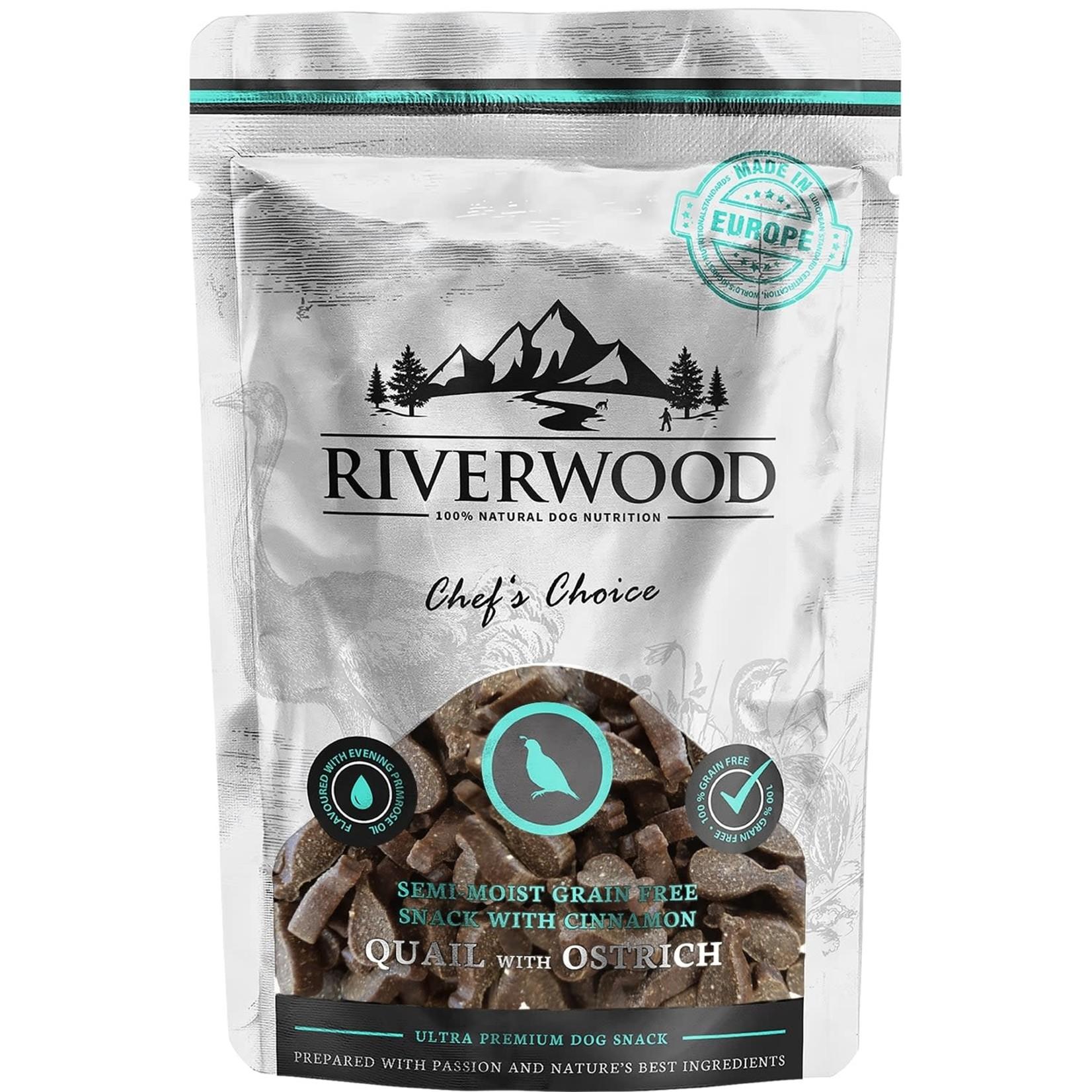 Riverwood Riverwood snack Quail & Ostrich