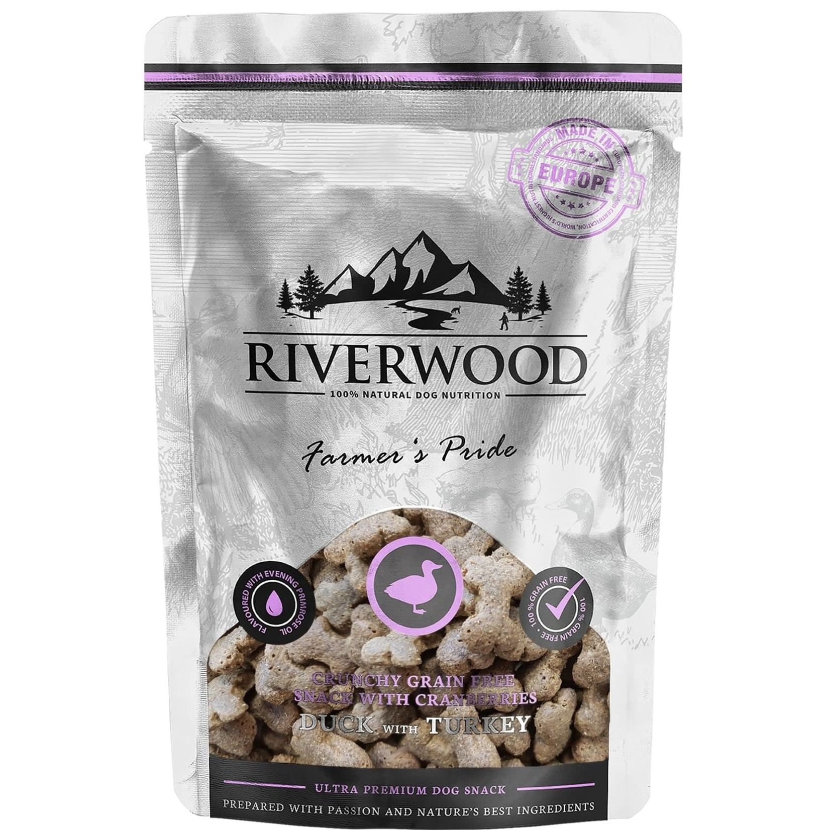 Riverwood Riverwood snack Duck & Turkey
