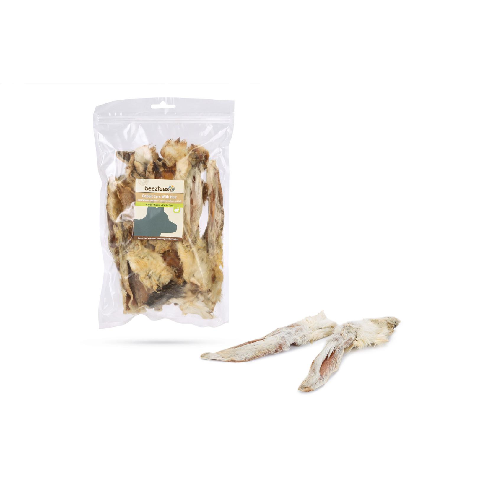 Beeztees BZ Konijnenoren met haar (200 gram)