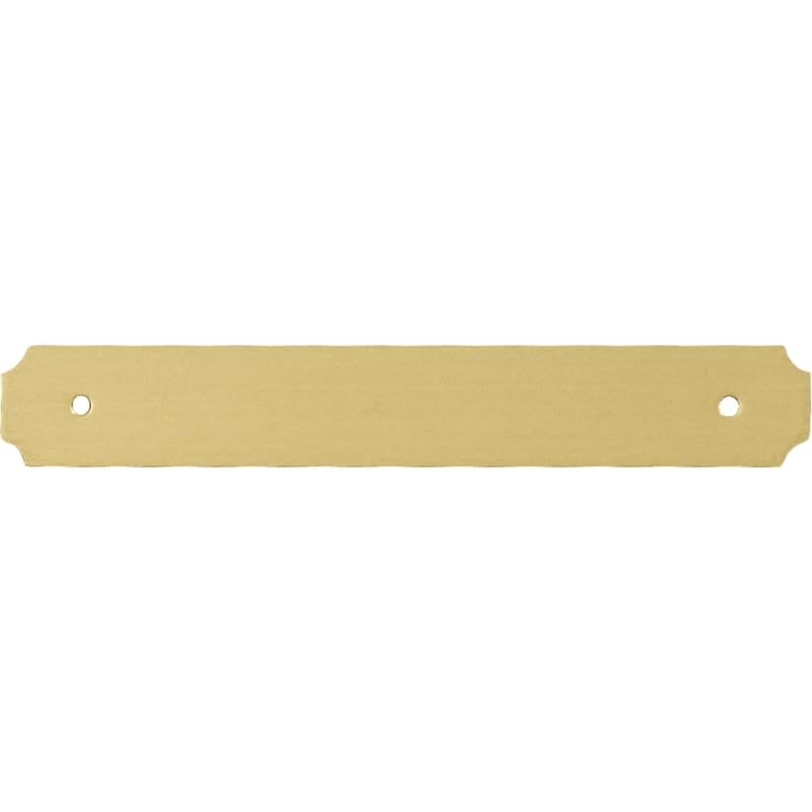 Smulders Diervoeders Messing plaat 6,3cm x 1cm (spijker)