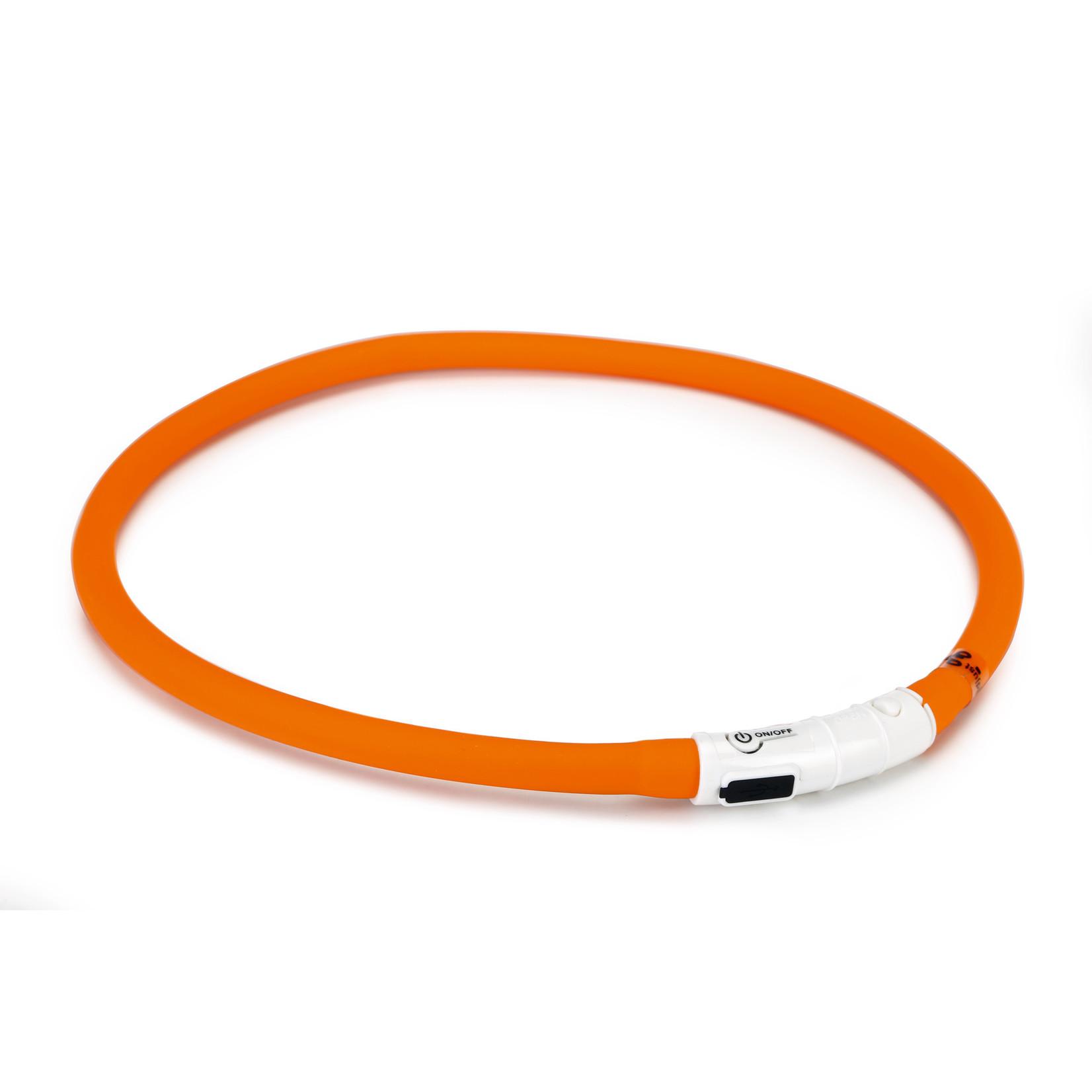 Beeztees BZ Dogini Halsband LED  Oranje