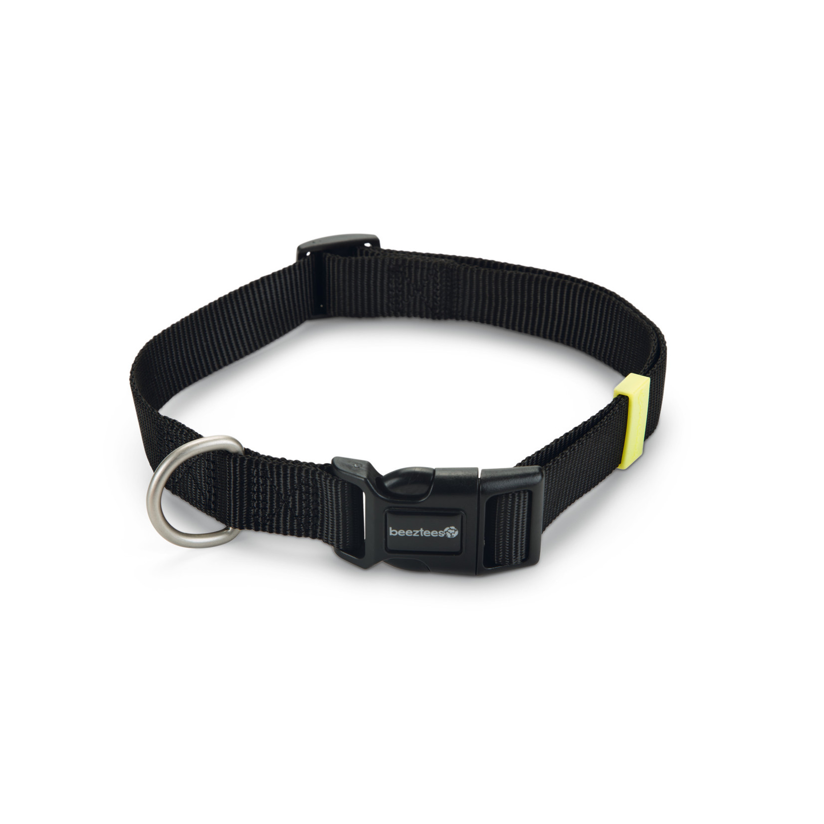 Beeztees BZ Nylon Halsband Uni Zwart