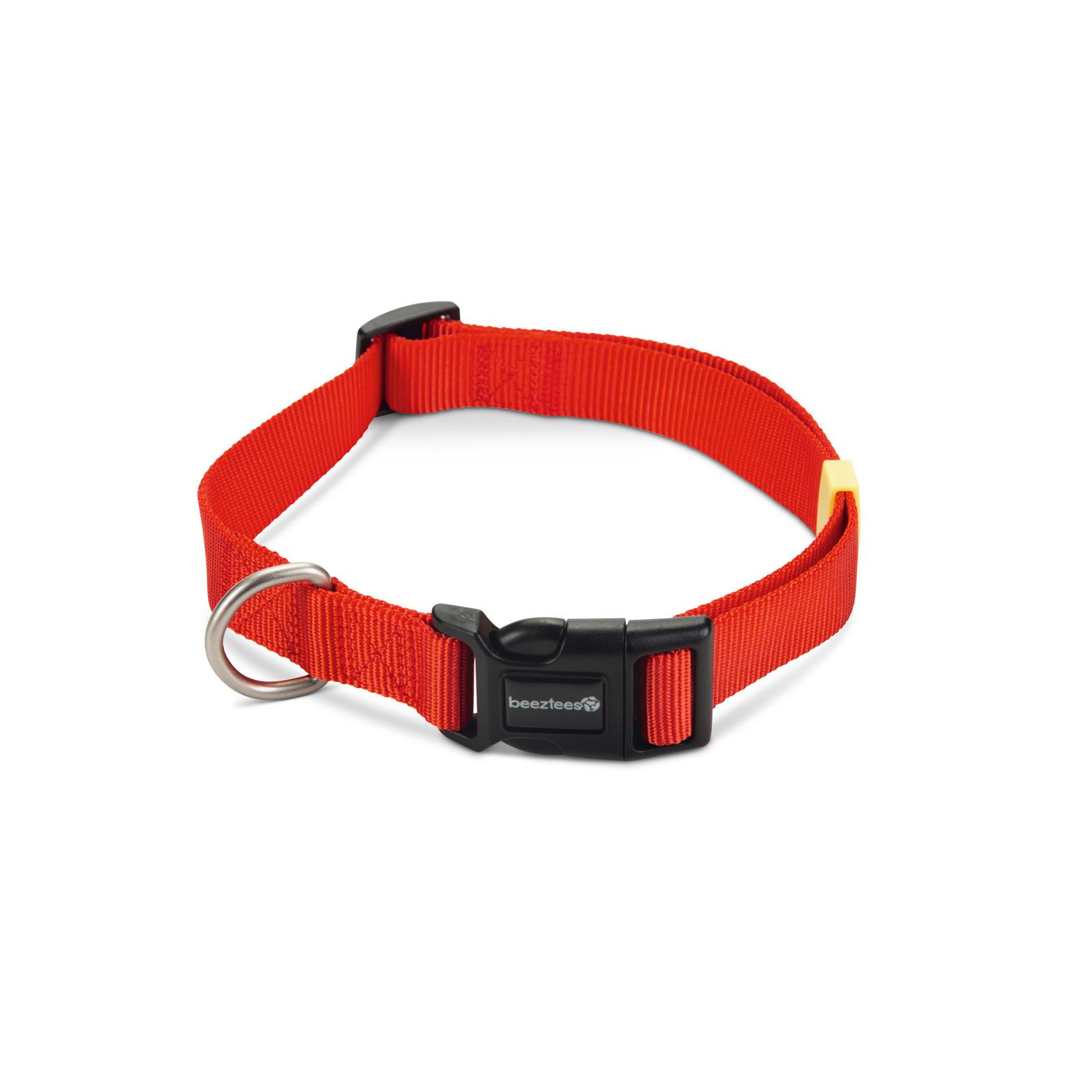 Beeztees BZ Nylon Halsband Uni  Rood