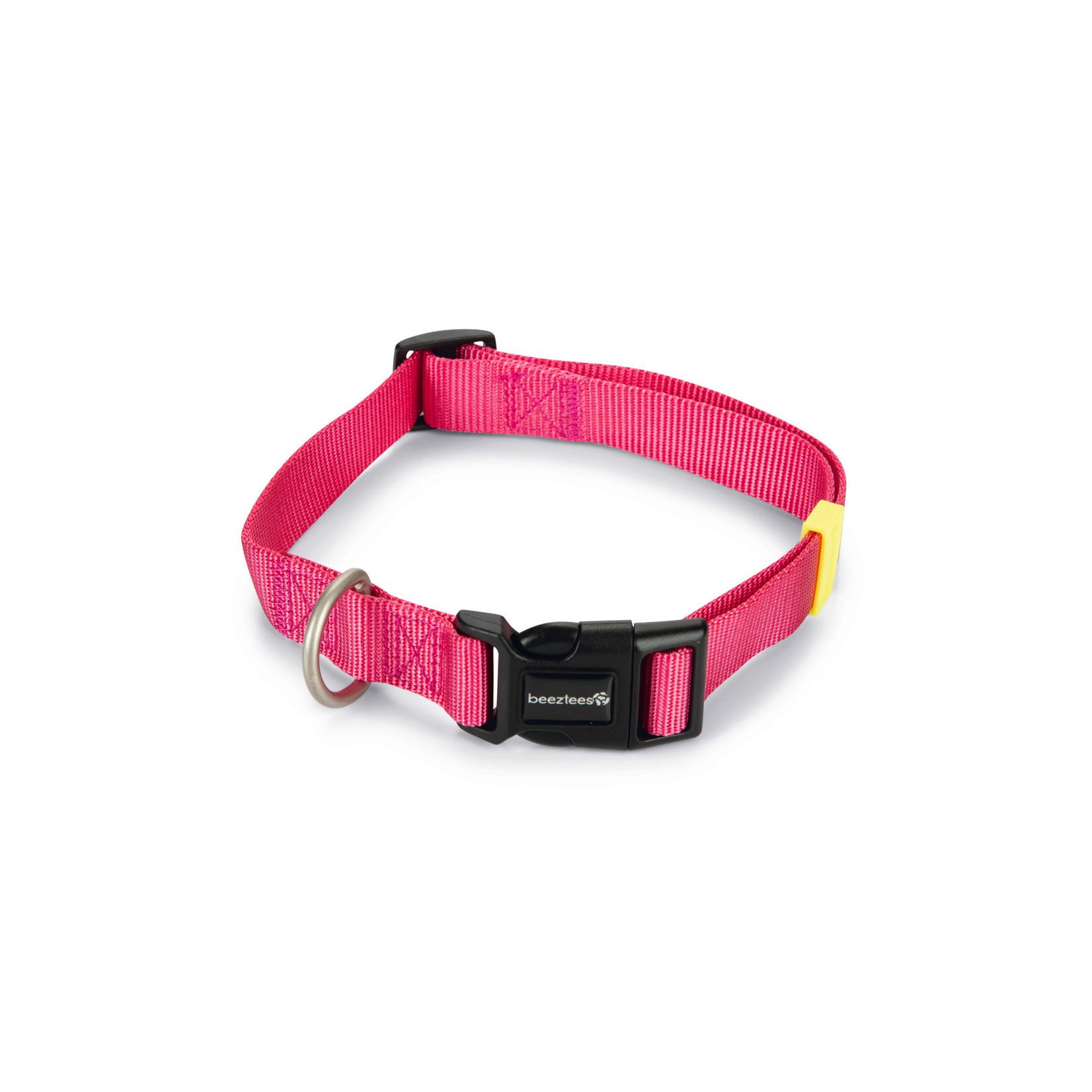 Beeztees BZ Nylon Halsband Uni  Roze