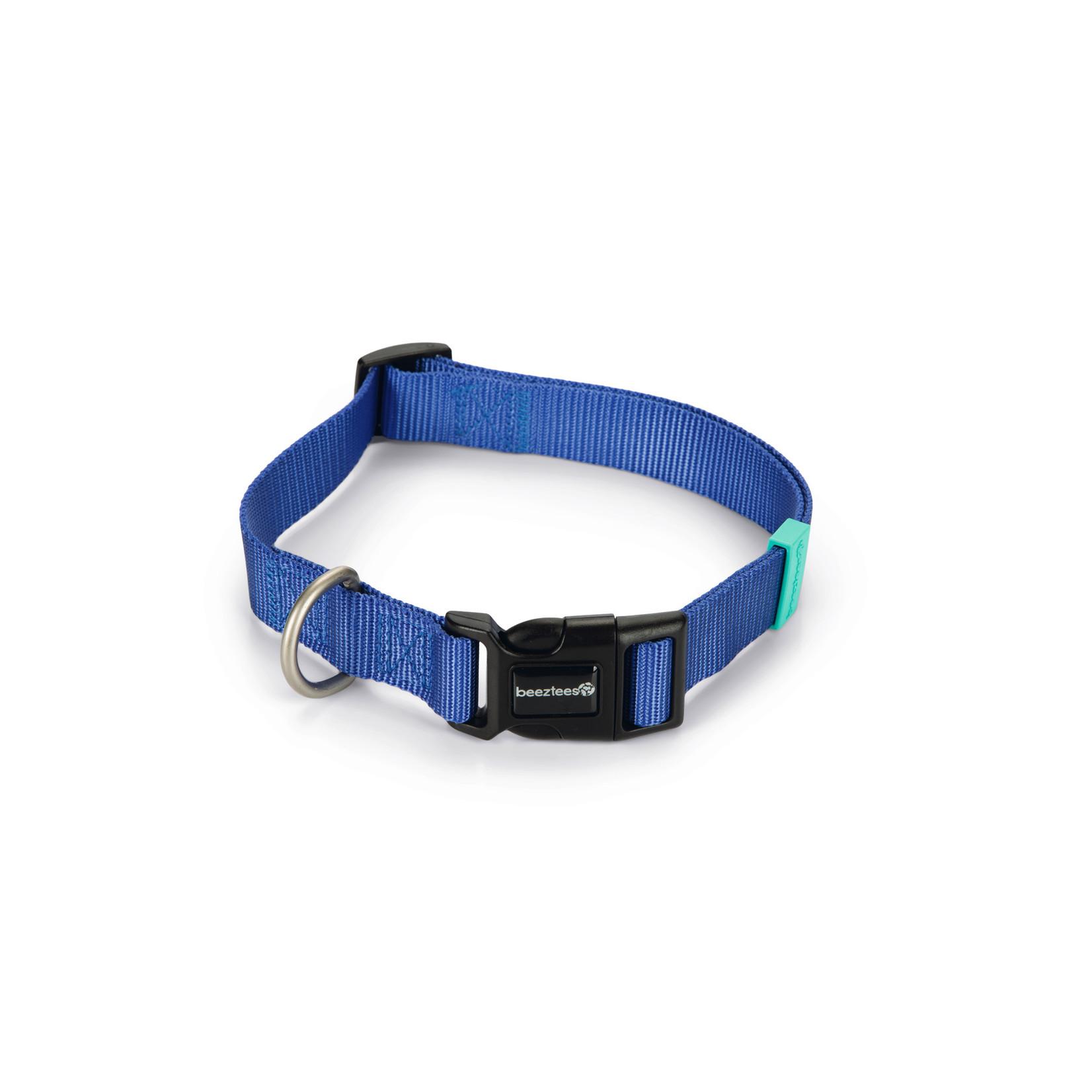 Beeztees BZ Nylon Halsband Uni Blauw