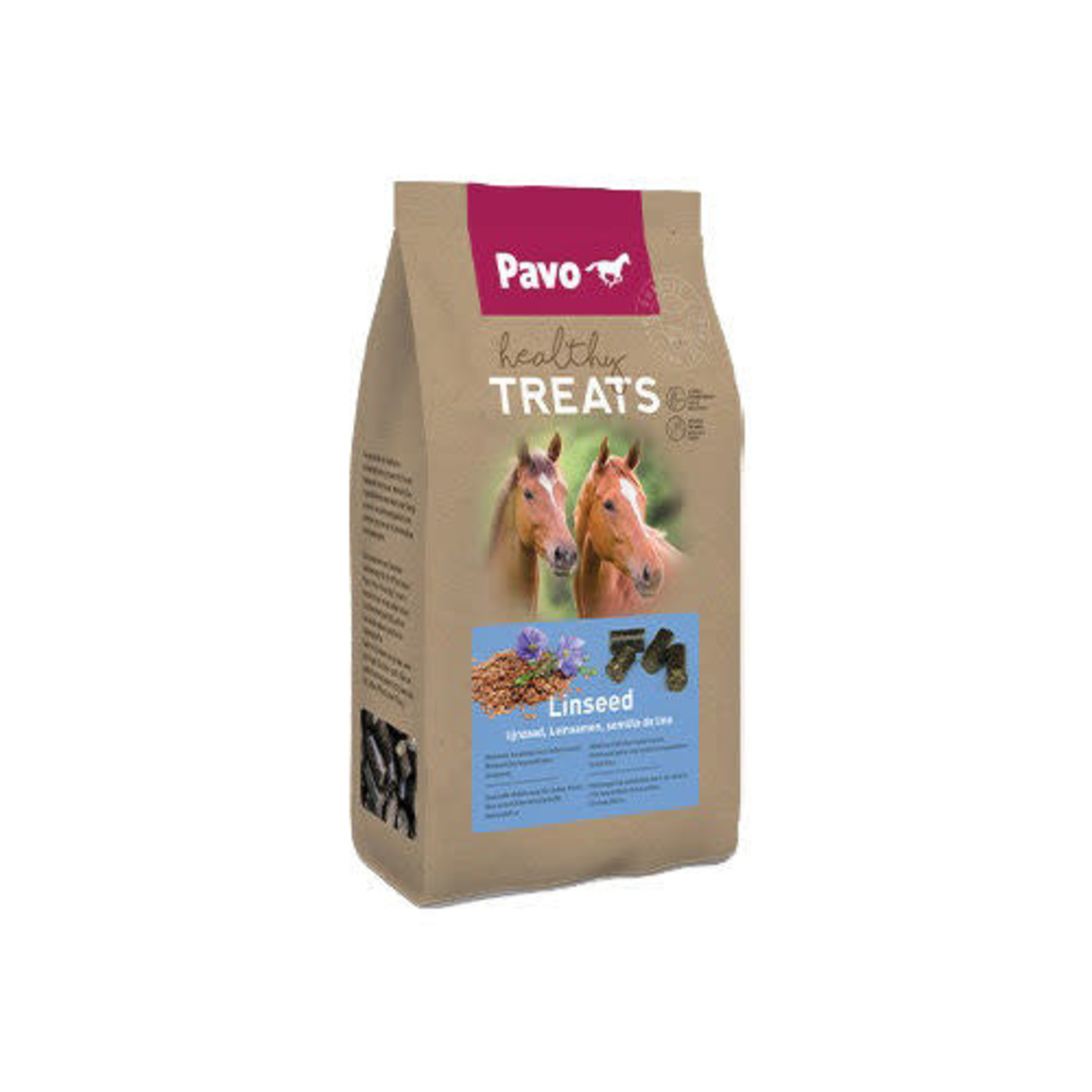 Pavo Pavo Healty Treat Linseed