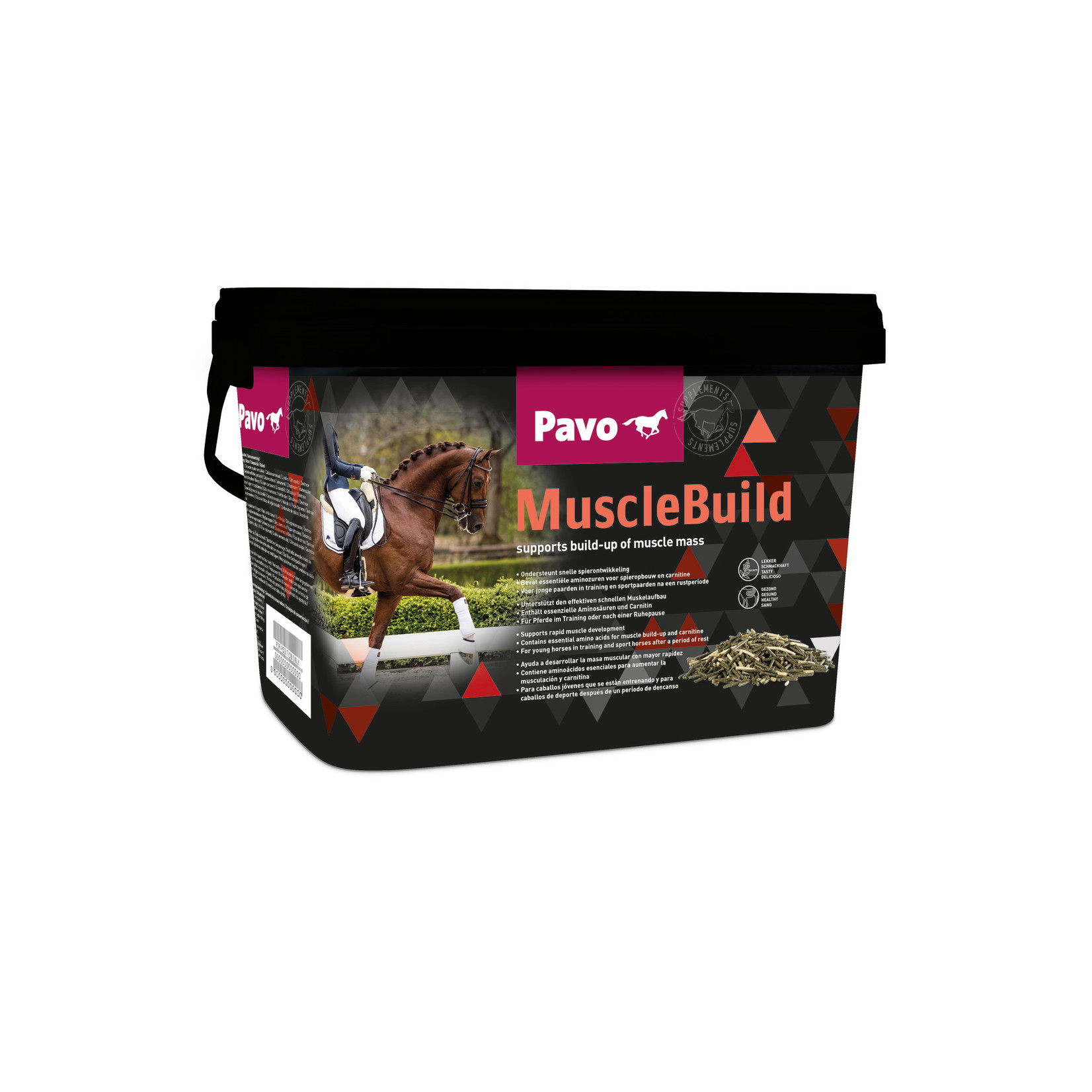 Pavo Pavo MuscleBuild 3 kg