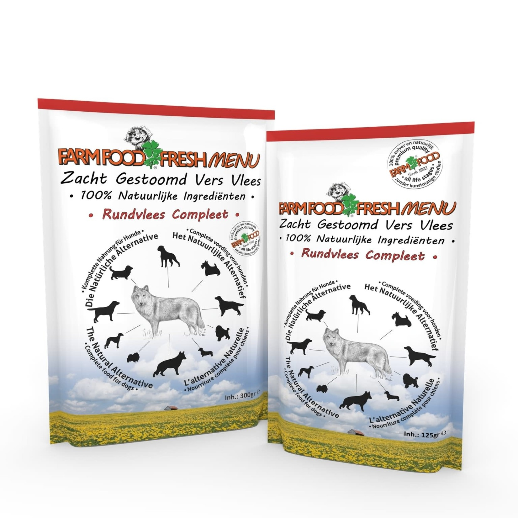 Farm Food Farm Food Fresh Menu Rundvlees compleet