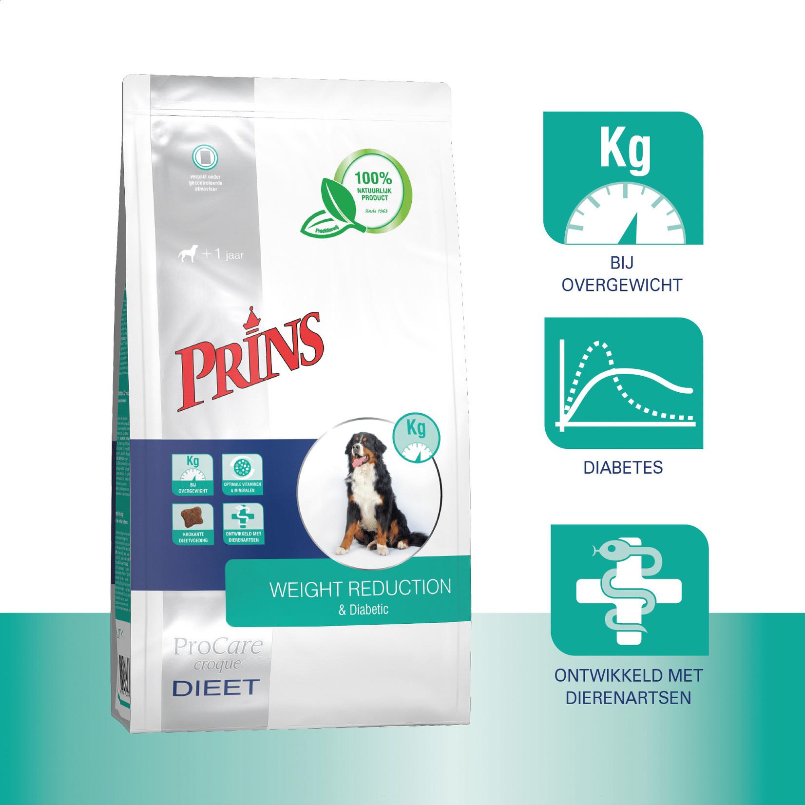 Prins Petfoods Prins Hond Dieet WR & Diabetic