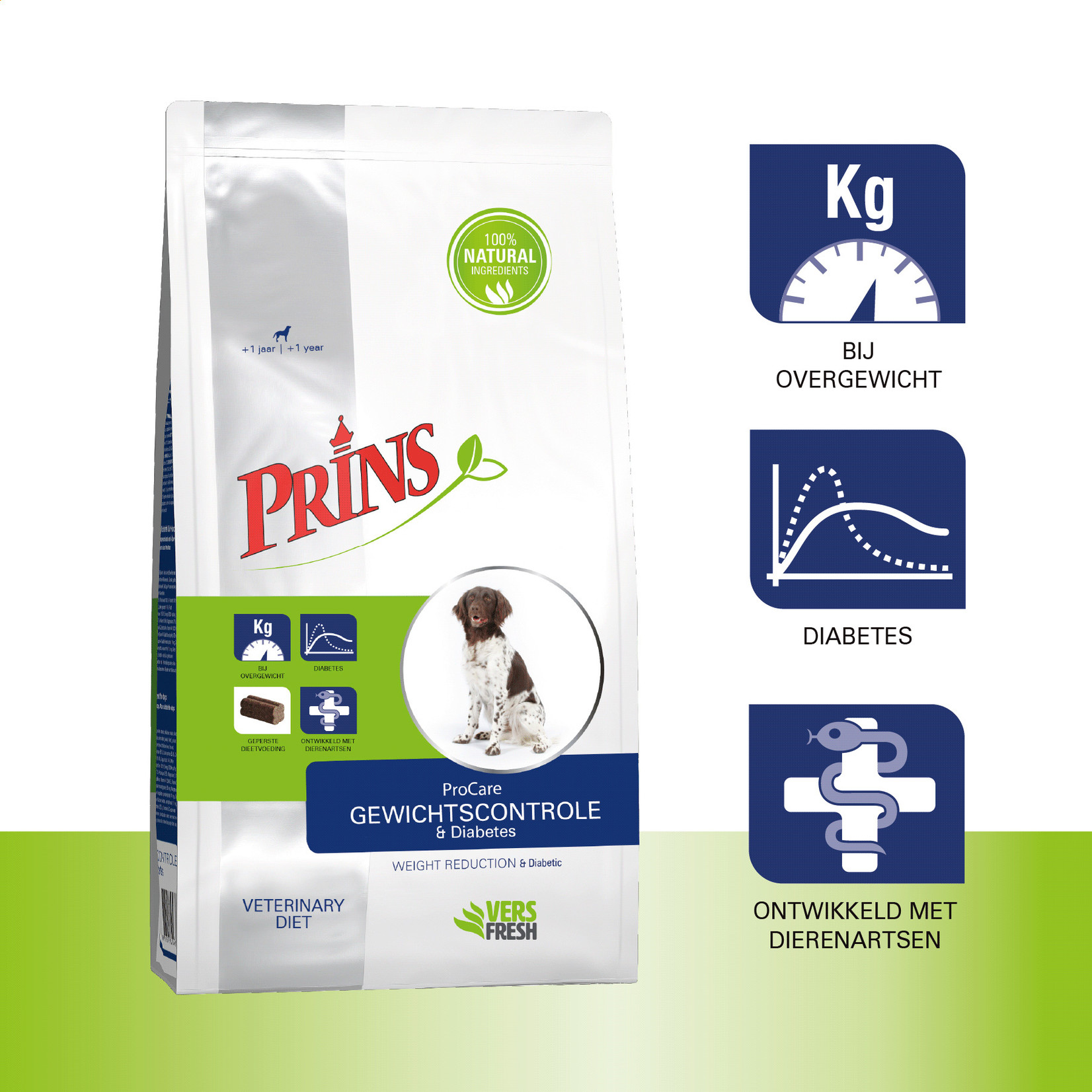 Prins Petfoods Prins Dieet Gewichtscontrole & Diabetes
