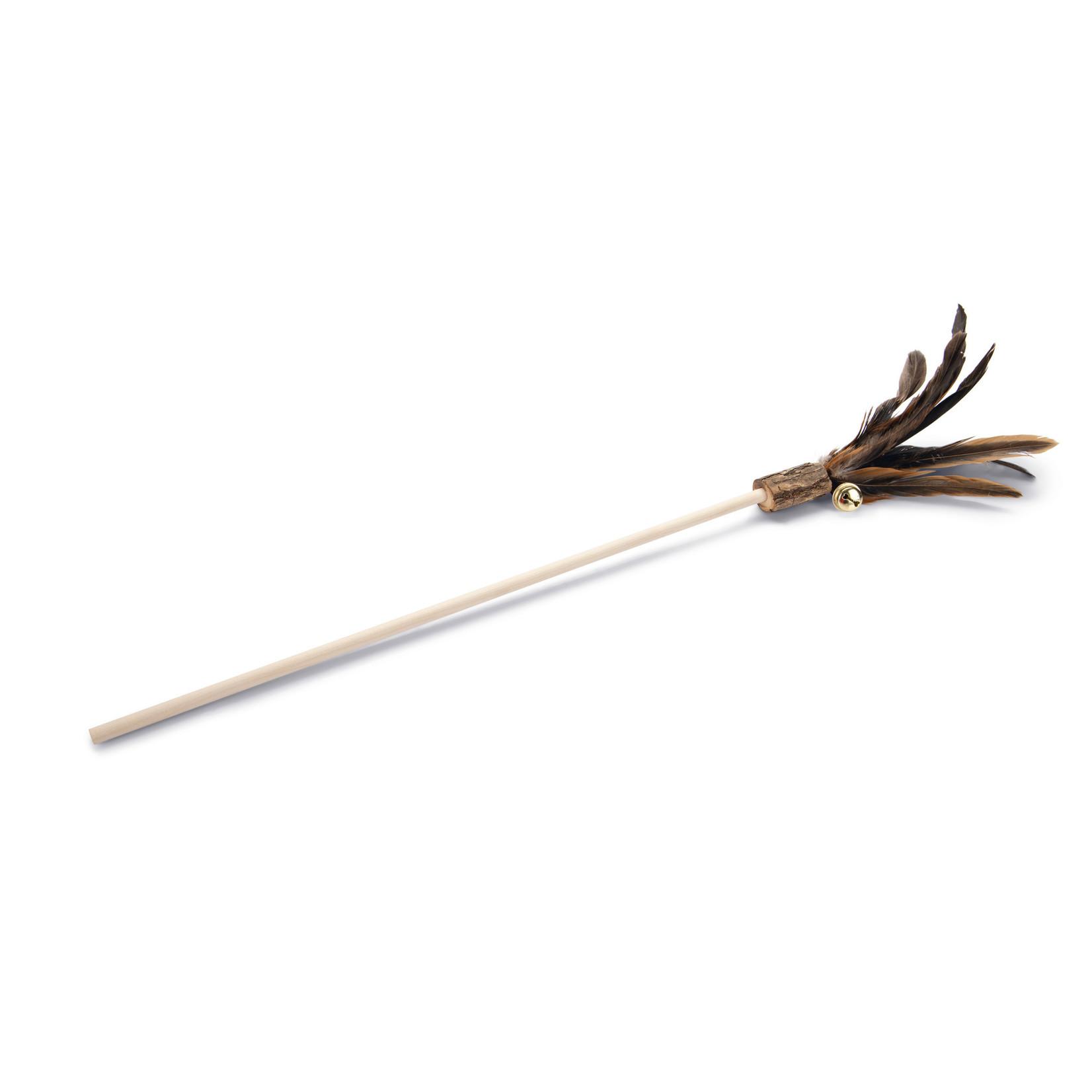 Beeztees Matabi Tickler met veren (40 cm)