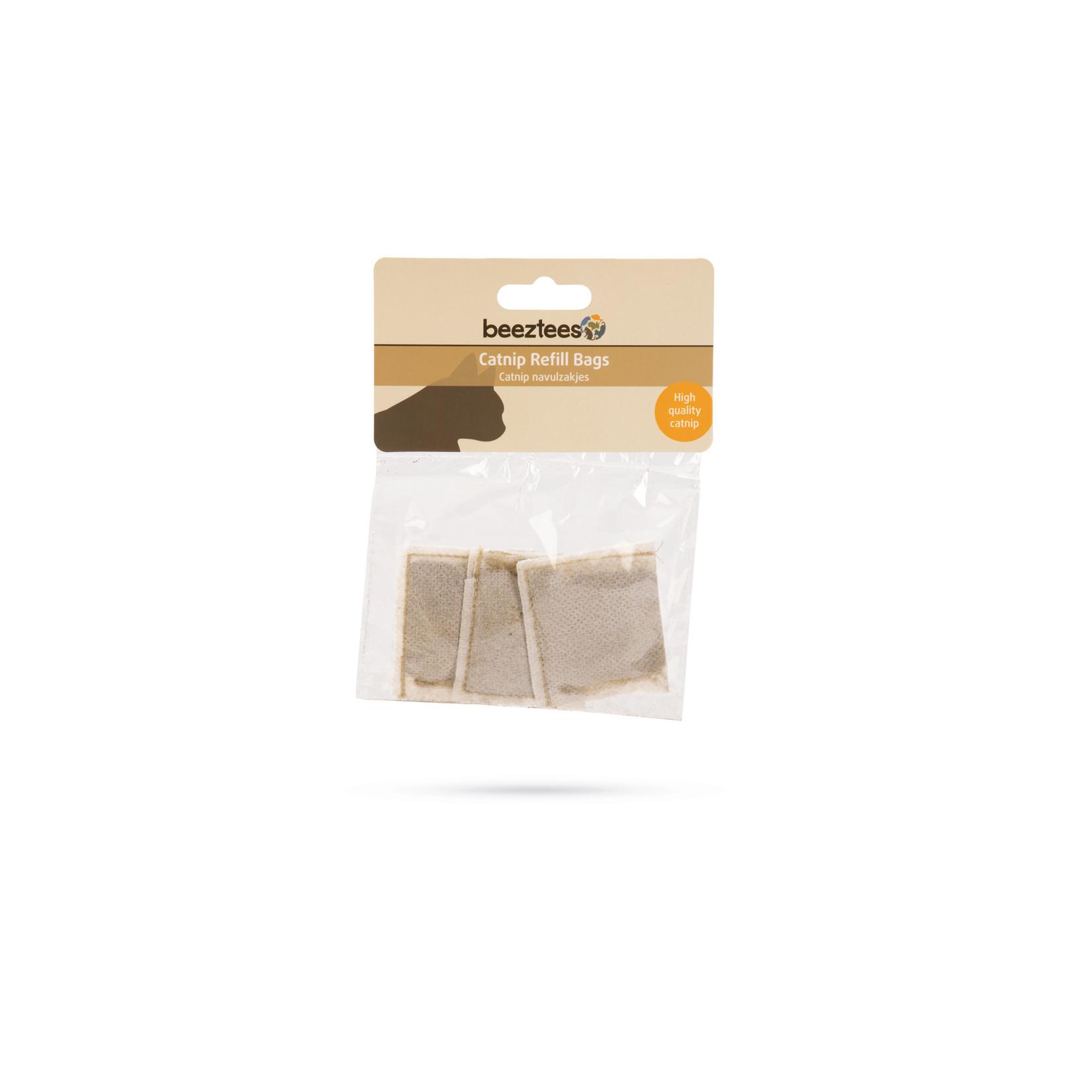 Beeztees Catnip navulling zakjes (3 x 3 gram)