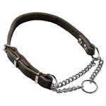 Adori Slipketting Halsband Vario Donkerbruin