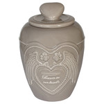 Happy House Memory Collection Urn Beige Small