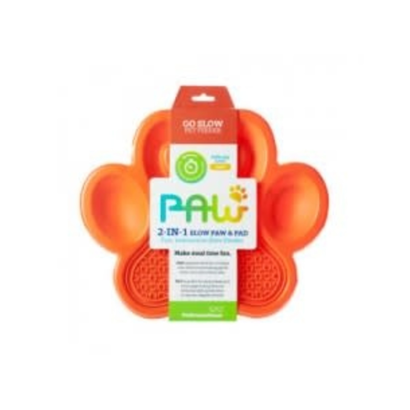 PAW Pet Dream House Paw 2-in-1 Slow Feeder & Lick Pad