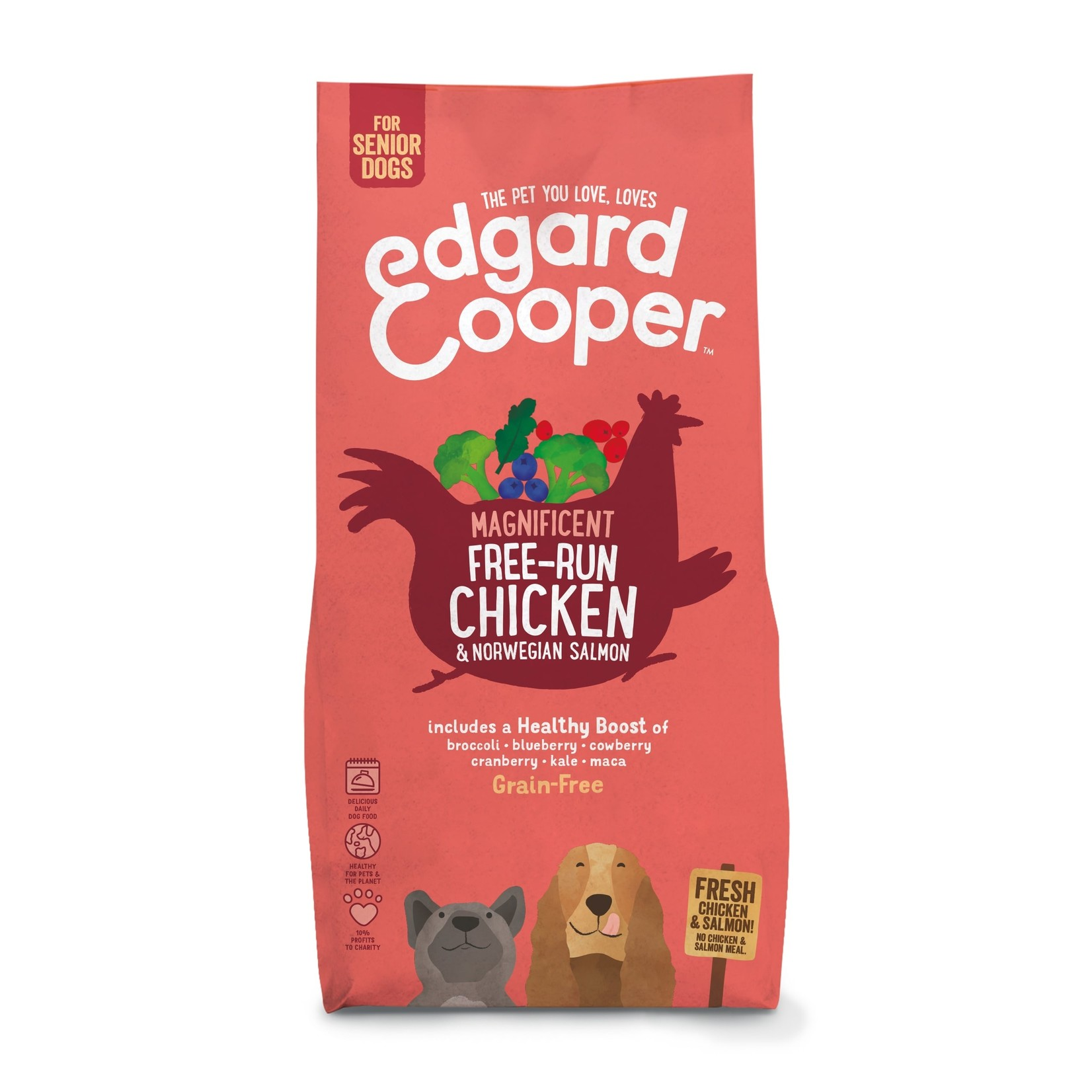 Edgar & Cooper E&C Senior Verse Scharrelkip & Noorse zalm