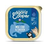 Edgar & Cooper E&C Natvoer Kat Adult Kip en MSC-kabeljauw
