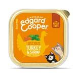 Edgar & Cooper E&C Natvoer Kat Adult Kalkoen en garnalen