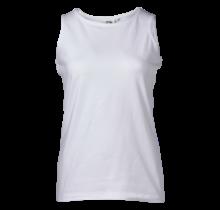 Dames singlet hemd wit