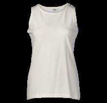 Dames singlet hemd offwhite