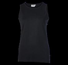 Dames singlet hemd zwart