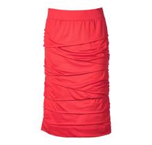 Dames rok laagjes Rood