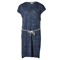 Dames jurk melange Marine