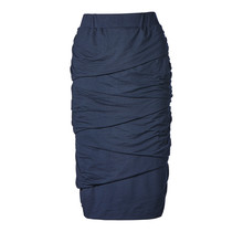 Dames rok laagjes marine
