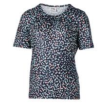 Dames shirt plooien bloemenprint