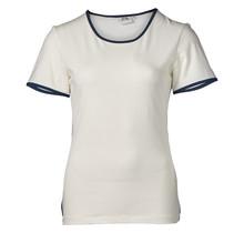 Dames shirt basic off white, km