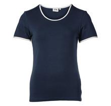 Dames shirt basic marine, km